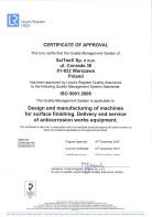 ISO 14001:2004 - Certificate of Approval